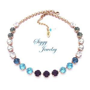 Jewelry - Swarovski® Crystal Necklace, Drama Queen, 10mm